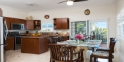 The kitchen at Reef Pearl if fully equipped with everything you may need while on vacation in the Turks and Caicos Islands.