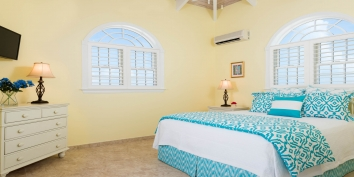 This Turks and Caicos villa rental can be rented as a 3 or 5 bedroom vacation rental.