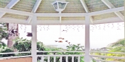 SOL Y MAR VILLA, TOBAGO W.I. A special treat: Hummingbirds flock to the gazebo