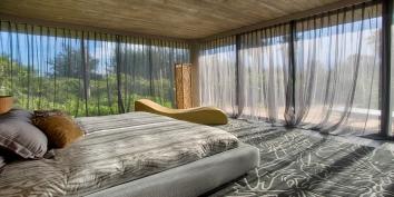 A luxury bedroom suite at Villa Islander, Providenciales (Provo), Turks and Caicos Islands, B.W.I.