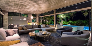 This Caribbean luxury villa rental provides the finest contemporary indoor and outdoor living experience.