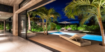 This Turks and Caicos vacation rental is beautifully designed and decorated throughout.
