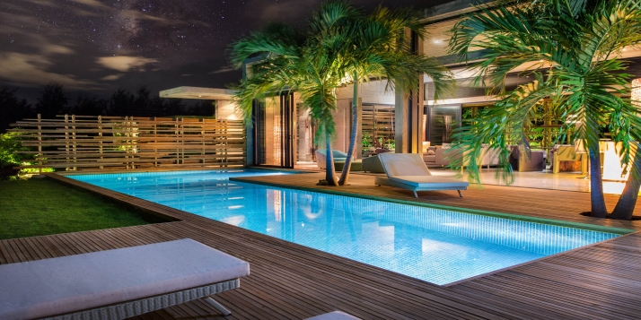 A beautifully designed 4 bedroom luxury villa providing privacy, comfort and tropical chic!