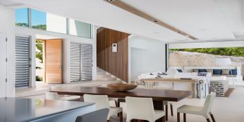 Contemporary luxury throughout at Beach Enclave North Shore Villa 4.