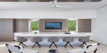 Beach Enclave North Shore Villa 9 also has an entertainment and bar area in the great room.