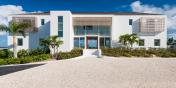 The entrance to Beach Enclave North Shore Villa 9, Providenciales, Turks and Caicos Islands.