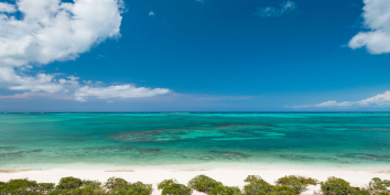 Stunning views of the North Shore of Providenciales (Provo), Turks and Caicos Islands.