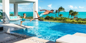 Triton Luxury Villa is also the perfect location for family fun in the Turks and Caicos Islands.