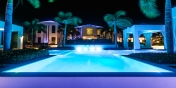 This Turks and Caicos luxury villa rental is absolutely stunning by day and by night.