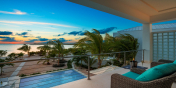 Villa Sardinia is the perfect location for a romantic Caribbean sunset.