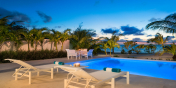 Villa Sorrento is the perfect location for a romantic Caribbean sunset.
