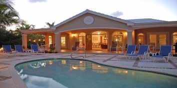 Turks and Caicos Villa Rentals - Acacia Villa, Leeward, Providenciales (Provo), Turks and Caicos Islands.