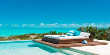 Turks and Caicos Villa Rentals - Aguaribay, Long Bay Beach, Providenciales (Provo), Turks and Caicos Islands.