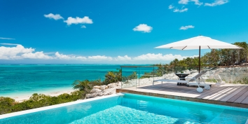 Turks and Caicos Villa Rentals - Beach Enclave North Shore Beachfront villas, Providenciales (Provo), Turks and Caicos Islands.