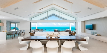 Turks and Caicos Villa Rentals - Beach Enclave North Shore Ocean View villas, Providenciales (Provo), Turks and Caicos Islands.