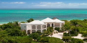 Turks and Caicos Villa Rentals - Beach Villa Avalon, Grace Bay Beach, Providenciales (Provo), Turks and Caicos Islands.
