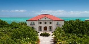 Turks and Caicos Villa Rentals - Beach Villa Paprika, Grace Bay Beach, Providenciales (Provo), Turks and Caicos Islands.
