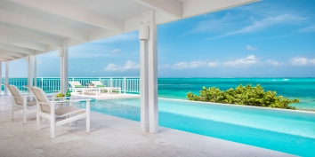 Turks and Caicos Villa Rentals - Beach Villa Sandstone, Grace Bay Beach, Providenciales (Provo), Turks and Caicos Islands.
