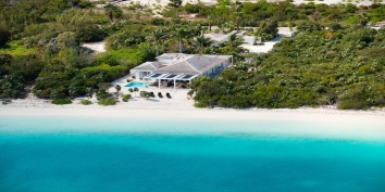 Turks and Caicos Villa Rentals - Blue Orchid Villa, Leeward Beach, Providenciales (Provo), Turks and Caicos Islands.