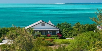 Turks and Caicos Villa Rentals - Callaloo Cottage, Grace Bay Beach, Providenciales (Provo), Turks and Caicos Islands.