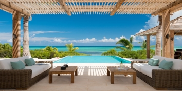 Turks and Caicos Villa Rentals - Castaway, Thompson Cove, Providenciales (Provo), Turks and Caicos Islands.