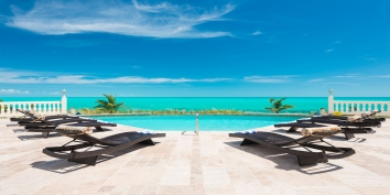 Turks and Caicos Villa Rentals - Conched Out, Long Bay Beach, Providenciales (Provo), Turks and Caicos Islands.