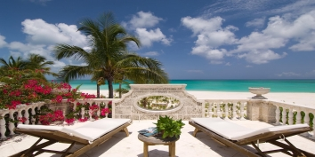 Turks and Caicos Villa Rentals - Coral House, Grace Bay Beach, Providenciales (Provo), Turks and Caicos Islands.