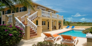 Turks and Caicos Villa Rentals By Owner - Emerald Shores Guest House, Chalk Sound, Providenciales (Provo), Turks and Caicos Islands.
