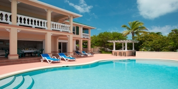 Turks and Caicos Villa Rentals By Owner - Emerald Shores Villa, Chalk Sound, Providenciales (Provo), Turks and Caicos Islands.