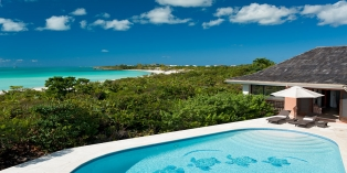 Turks and Caicos Villa Rentals - Five Turtles Villa, Taylor Bay Beach, Providenciales (Provo), Turks and Caicos Islands.