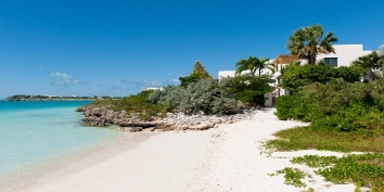 Turks and Caicos Villa Rentals - La Koubba, Sapodilla Bay Beach, Providenciales (Provo), Turks and Caicos Islands.