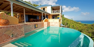 Caribbean Villa Rentals By Owner - Limeberry Villa, Tortola, British Virgin Islands.