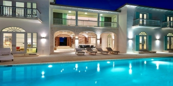 Turks and Caicos Villa Rentals - Long Bay House, Long Bay Beach, Providenciales (Provo), Turks and Caicos Islands.