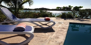 Turks and Caicos Villa Rentals - Morning Glory Villa, Chalk Sound, Providenciales (Provo), Turks and Caicos Islands.