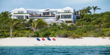 Turks and Caicos Villa Rentals By Owner - Mothershouse, Babalua Beach, Providenciales (Provo), Turks and Caicos Islands.
