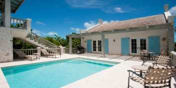 Turks and Caicos Villa Rentals - Nutmeg Cottage, Grace Bay Beach, Providenciales (Provo), Turks and Caicos Islands.