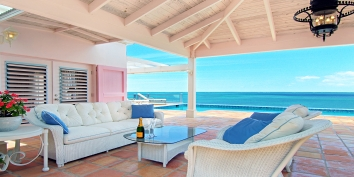 Turks and Caicos Villa Rentals - Reef Tides, Babalua Beach, Providenciales (Provo), Turks and Caicos Islands.