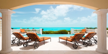 Turks and Caicos Villa Rentals - Sandy Beaches, Long Bay Beach, Providenciales (Provo), Turks and Caicos Islands.