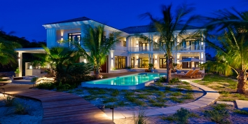 Turks and Caicos Villa Rentals By Owner - Saving Grace, Grace Bay Beach, Providenciales (Provo), Turks and Caicos Islands.