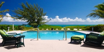 Turks and Caicos Villa Rentals - Serenity House, Grace Bay Beach, Providenciales (Provo), Turks and Caicos Islands.