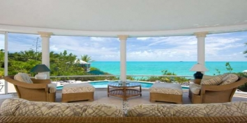 Turks and Caicos Villa Rentals By Owner - South Seas Villa, Silly Creek / Chalk Sound, Providenciales (Provo), Turks and Caicos Islands.