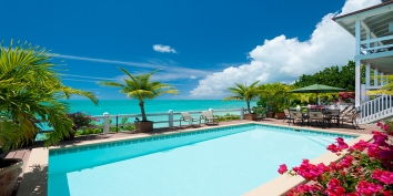 Turks and Caicos Villa Rentals - Sunset Point Villa, Ocean Point, Providenciales (Provo), Turks and Caicos Islands.