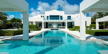 Turks and Caicos Villa Rentals - The Windermere, Leeward Canal, Providenciales (Provo), Turks and Caicos Islands.