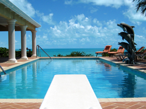 Three Dolphins Villa, Long Bay Beach, Providenciales (Provo), Turks and Caicos Islands