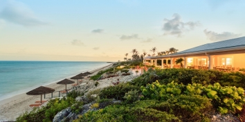 Turks and Caicos Villa Rentals - Three Dolphins Villa, Long Bay Beach, Providenciales (Provo), Turks and Caicos Islands.
