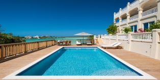 Turks and Caicos Villa Rentals - Tropical Shores Villa, Chalk Sound, Providenciales (Provo), Turks and Caicos Islands.