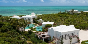 Turks and Caicos Villa Rentals - Turtle Breeze Villa, Grace Bay Beach, Providenciales (Provo), Turks and Caicos Islands.