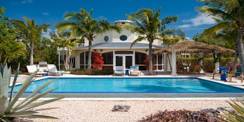 Turks and Caicos Villa Rentals - Twelve Palms Villa, Ocean Point, Providenciales (Provo), Turks and Caicos Islands.