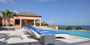 Antigua Villa Rentals By Owner - Villa Azura, Long Bay, Antigua, Antigua and Barbuda.