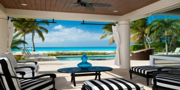Turks and Caicos Villa Rentals By Owner - Villa Del Sol, Grace Bay Beach, Providenciales (Provo), Turks and Caicos Islands.